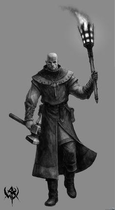 Gamers Gallery - Warhammer Online: Age of Reckoning (Concept) Warrior Priest.