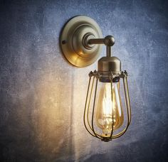 Our Orlando Wall Light is extremely popular because of its simplistic design- available in Brass and Pewter on our website: http://www.industville.co.uk/