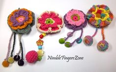 crocheted brooch - Yahoo Image Search Results
