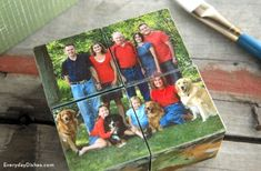 Photo Puzzle Blocks   Fun Family Crafts