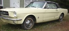 Ford : Mustang 2-Door Convertible 65 Ford Mustang Convertible, Barn Find, Restoration Project w/ Solid Foundation