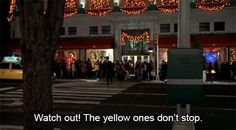 """The Yellow Ones Don't Stop 