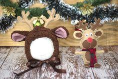 Figurinos para fotografia newborn. #newbornchristmas #natal
