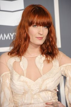 Florence Welch's Vibrant Ruby - Red Hair Color: The Most Gorgeous ...