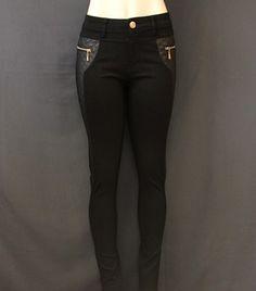 #legging #negro con #vinil a los #lados