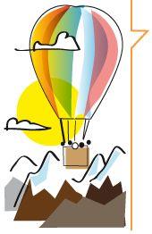 Volare in mongolfiera sulle Alpi svizzere