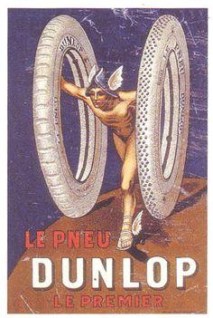 Le pneu Dunlop - Le premier