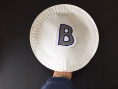 Letter Identification: Make BINGO paper plate paddles (sets of 2 plates stapled so that you can insert your hand as shown) to sing the song :PAPER PLATE PADDLES - Dr. Jean & Friends Blog