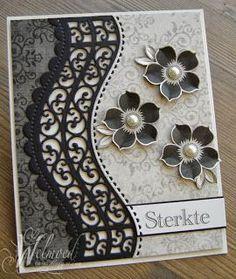 Spellbinders borderabilities - other beautiful card on this ladies website.
