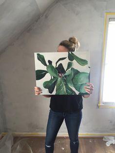 How To Catch A Leaf (16 x 20) $140