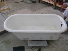 3 Antique claw foot tub feet cast iron bathtub feet Shabby ...
