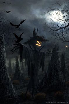 Scarey scarecrow