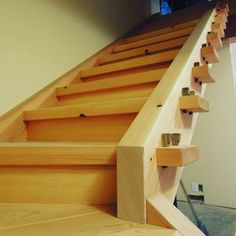 double wedge joinery staircase