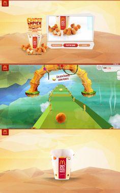 Super Spice Dash, 29 October 2013. http://www.awwwards.com/web-design-awards/super-spice-dash  #FoodDrink #ResponsiveDesign #HTML5 #Colorful #WebGL