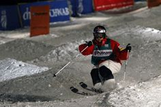 Heather McPhie competes in the 2013 FIS Freestyle World Cup at Deer Valley Resort in Park City. (Chris Detrick  |  The Salt Lake Tribune)