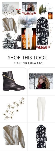 """""""Winter magic"""" by fpb173 ❤ liked on Polyvore featuring Casadei, Global Views, Joseph, Anine Bing and STELLA McCARTNEY"""