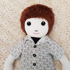 Check out this item in my Etsy shop https://www.etsy.com/au/listing/580854534/soft-boy-doll-cloth-dolls-handmade