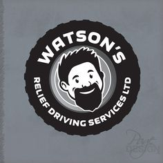 Logo design for Watson's Relief Driving Services Ltd, NZ Page Design, Graphic Design, Logos, Logo, Visual Communication