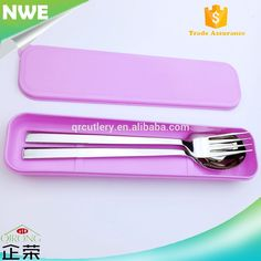 Outdoor Travel Picnic Tableware Set Separable Spoon Fork Protable Plastic box
