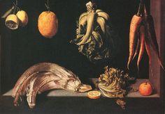 Juan Sanchez-Cotan, Still Life William Turner, Juan Sanchez Cotan, Hans Baldung Grien, Renaissance, Web Gallery, Still Life Fruit, Baroque Art, New York Museums, Spanish Painters