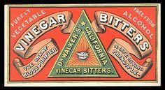 Dr. Walker's California Vinegar Bitters | Sheaff : ephemera