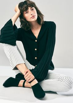 Busnel S/S18 Sweaters, Image, Fashion, Moda, Fashion Styles, Sweater, Fashion Illustrations, Sweatshirts, Pullover Sweaters