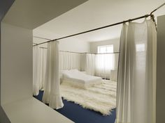 sbrhm:  Adolf Loos Bedroom in the Lina and Adolf Loos apartment