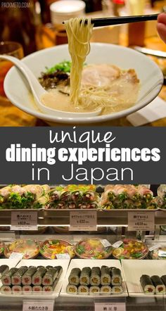 Not To Be Missed Eating Experiences in Japan | packmeto.com