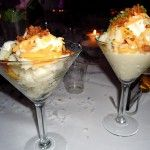 mashed potato bar did this later in the night at our wedding.