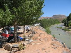 Look at these beautiful pictures of the Zion National Park RV Park area provided by the Zion River Resort.