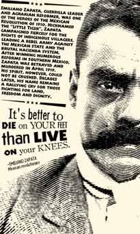 """""""I'd rather die on my feet, than live on my knees."""" Emiliano Zapata Emiliano Zapata Salazar August 1879 – 10 April was a leading figure in the Mexican Revolution against the dictatorship of Porfirio Díaz which broke out in Mexican American, Mexican Art, Mexican Style, Arte Latina, Pancho Villa, Mexican Revolution, Mexican Heritage, South Of The Border, Little Bit"""