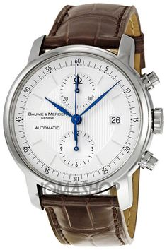 Baume and Mercier Classima Executives Steel XL Mens Watch 8692
