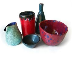 beautiful glazes on this pottery