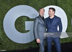 Actors Mads Mikkelsen (L) and Joel Edgerton attend the 2016 GQ Men of the Year Party at Chateau Marmont on December 8, 2016 in Los Angeles, California.  (Photo by Mike Windle/Getty Images for GQ)