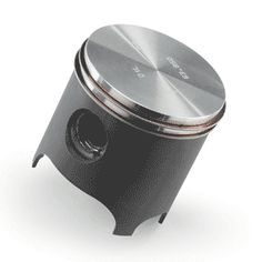 PISTON: En mécanique le piston est une pièce rigide coulissant dans une chemise de forme complémentaire assurant la variation du volume de la chambre, et la conversion d'une pression en force dans le cas d'un moteur à explosion et d'un vérin.