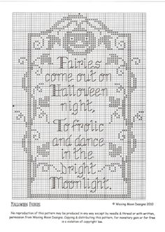 Thrilling Designing Your Own Cross Stitch Embroidery Patterns Ideas. Exhilarating Designing Your Own Cross Stitch Embroidery Patterns Ideas. Fall Cross Stitch, Cross Stitch Needles, Cross Stitch Heart, Cross Stitching, Cross Stitch Embroidery, Embroidery Patterns, Hand Embroidery, Halloween Embroidery, Halloween Cross Stitches