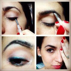 Diy make up Makeup By: Erika Arboleda  Ig: @maquillajeerikaag