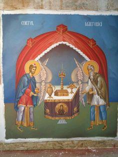 Byzantine Icons, Orthodox Icons, Fresco, Altar, Scene, Princess Zelda, Painting, Fictional Characters, Fresh