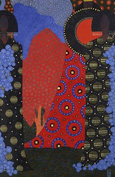 Vittorio Zecchin (Italian, 1878-1947), Study for One Thousand and One Nights