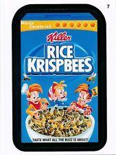 #7 RICE KRISPBEES/KRISPEES 2015 Topps Wacky Packages
