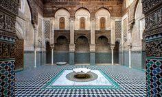 Madrasa Bou Inania à Fès. Photographie de Massimo Künstler.