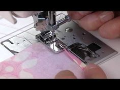 SINGER® Rolled Hem Presser Foot Tutorial - YouTube