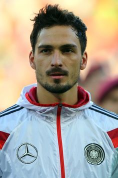 Mats Hummels of Germany looks on before the International Friendly Match between Germany and Armenia at coface Arena on June 6 2014 in Mainz Germany Rugby Players, Football Players, Football Boys, Mats Hummels, Dfb Team, Scruffy Men, Arsenal Football, Soccer Games, Muscular Men