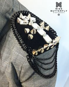 cool hand-made fashion epaulettes
