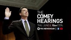 Join us for the PBS broadcast of Former FBI Director James Comeys testimony before the Senate Intelligence Committee this morning.  #news #alternativenews
