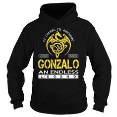 GONZALO An Endless Legend (Dragon) - Last Name, Surname T-Shirt
