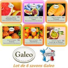 Lot de 6 savons senteurs vitaminées