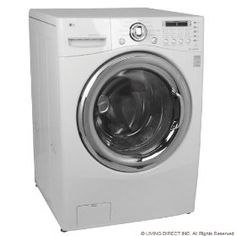 #9: LG 3.6 CF FRONT LOAD WASHER DRYER COMBO