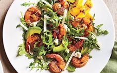 Lemony Grilled Shrimp Salad from the Cooking Light Diet