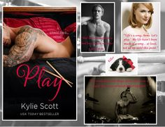 Play by Kylie Scott Kylie Scott, Book Quotes, Bad Boys, Novels, Let It Be, Songs, Play, Reading, Movie Posters